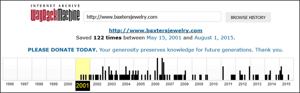 Baxters Fine Jewelry Website Review 1380-wayback-machine-39