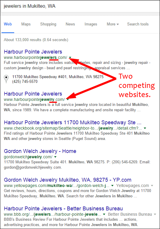 Harbour Pointe Jewelers Website Flop Fix 1385-jewelers-in-mukilteo-serp-80