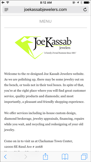 Joe Kassab Website Flop Fix Review 1398-joe-kassab-jewelers-moile-home-31