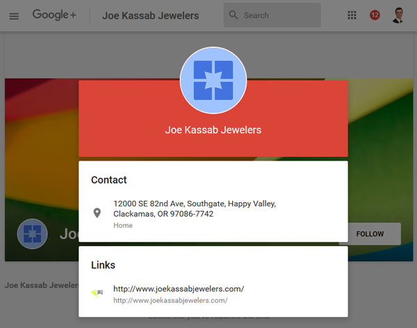 Changes to Google Maps Results and Google+ Business Listings 1400-new-google-plus-kassab-info-61