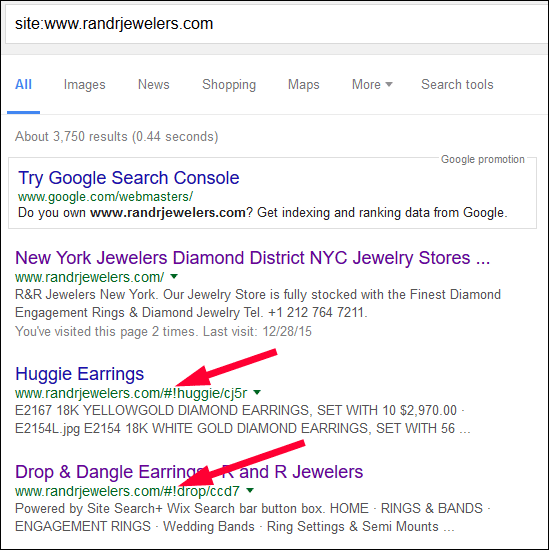 R&R Jewelers FridayFlopFix Review 1420-hash-bang-in-serps-80