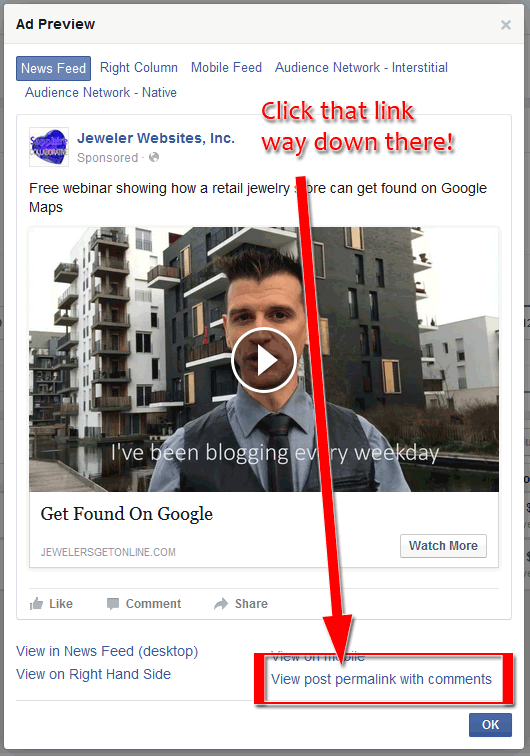 Left Unchecked, Comments On Your Facebook Ad Will Kill Its Effectiveness 1453-ad-preview-7