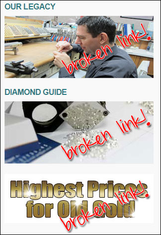Tallmons Jewelry FridayFlopFix Website Review 1455-broken-link-images-5