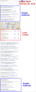 New Google SERP Format Does Not Show AdWords On Right Side Of Desktop Results 1462-engagement-rings-nyc-serp-85