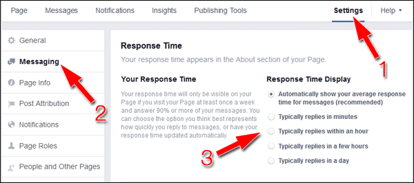 Facebook Messages: Your New Customer Service Channel 1466-fb-response-time-26