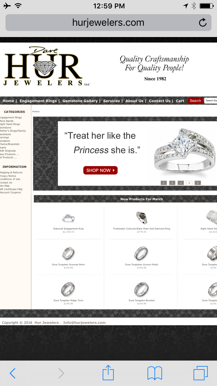 HUR Jewelers FridayFlopFix Website Review 1475-hur-home-page-7