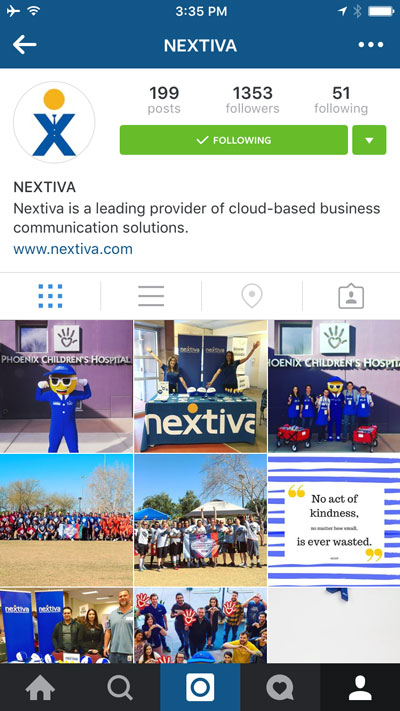 Instagram Is Changing, But Brands Should Still Use It 1482-instagram-nextiva-91
