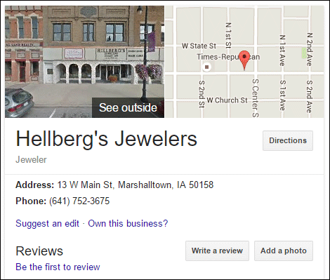 Hellbergs Jewelers Website Review 1498-unclaimed-google-my-business-61