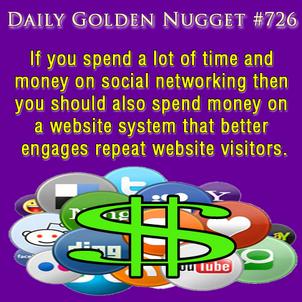Attracting Repeat Visitors to Your Website 15-daily-golden-nugget-726