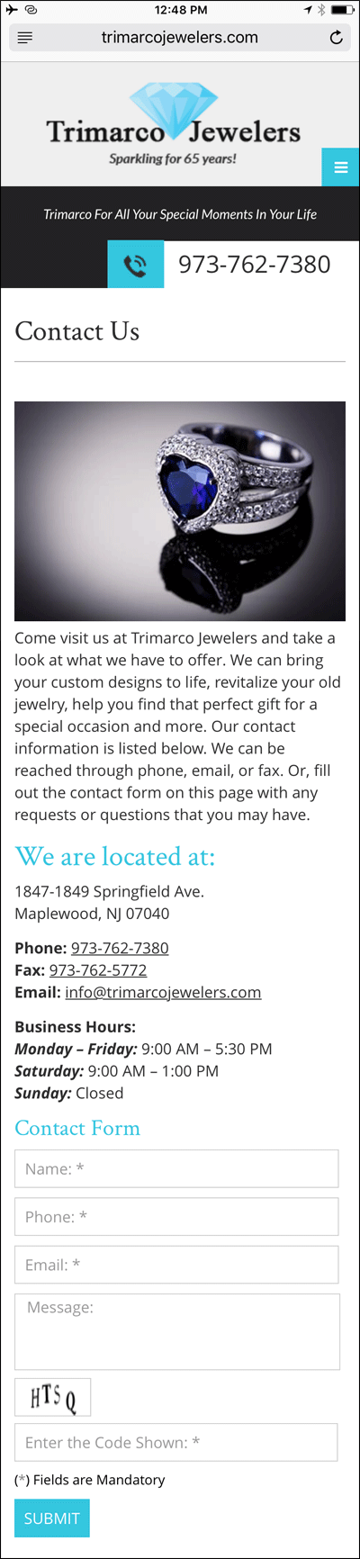 Trimarco Jewelers FridayFlopFix Website Review 1502-contact-page-20