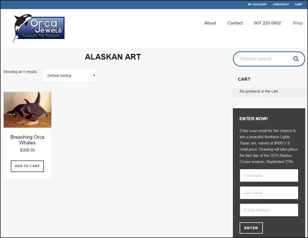 Orca Jewels FridayFlopFix Website Review 1503-alaskan-art-7