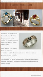 Precious Metalsmith FridayFlopFix Website Review 1507-precious-metalsmith-home-15