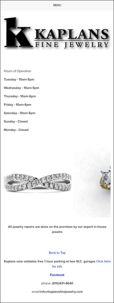 Kaplans Fine Jewelry and Troubling Responsive Designs FridayFlopFix 1510-kaplan-mobile-home-45