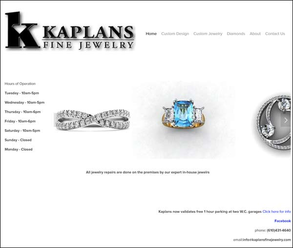 Kaplans Fine Jewelry and Troubling Responsive Designs FridayFlopFix 1510-kaplans-home-page-75