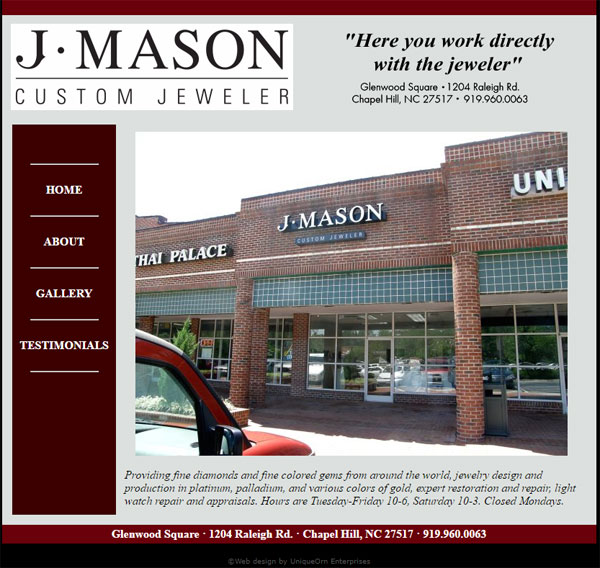 J Mason Custom Jeweler FridayFlopFix Website Review 1511-j-mason-custom-jeweler-home-72