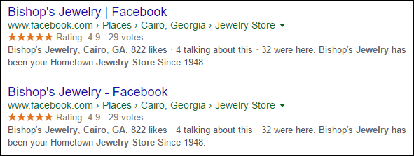 Cairo GA SERP Review 1514-double-facebook-92