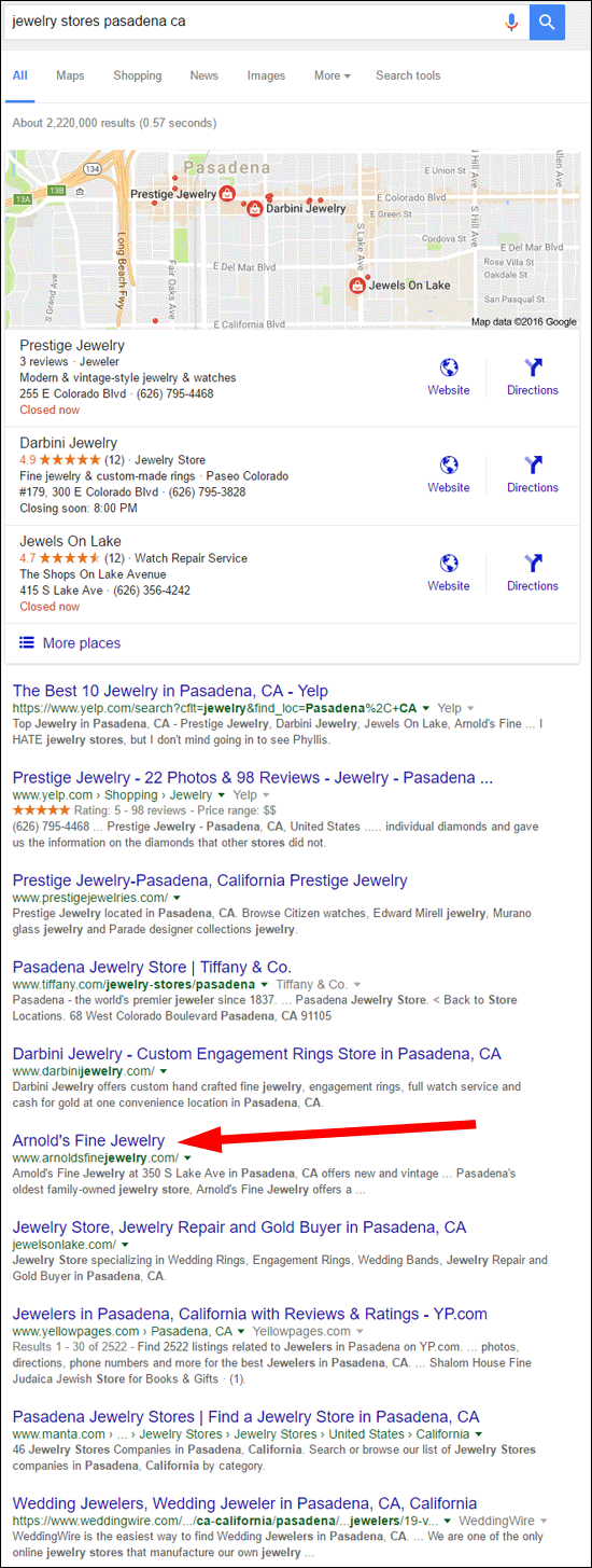 Arnolds Fine Jewelry FridayFlopFix Website Review 1517-jewelry-stores-pasadena-ca-serp-48