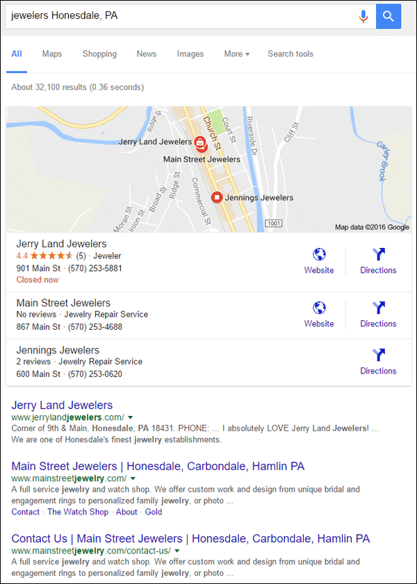 Jerry Land Jewelers FridayFlopFix Website Review 1519-jewelers-honesdale-pa-serp-23