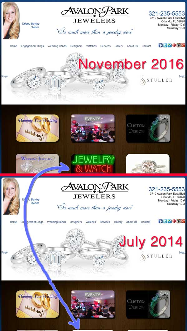 Avalon Park Jewelers Website Re-Review 1530-home-new-old-28