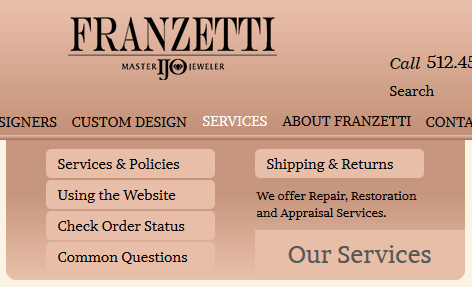 Franzetti Jewelers Website Re-Review 1531-mega-menu-58