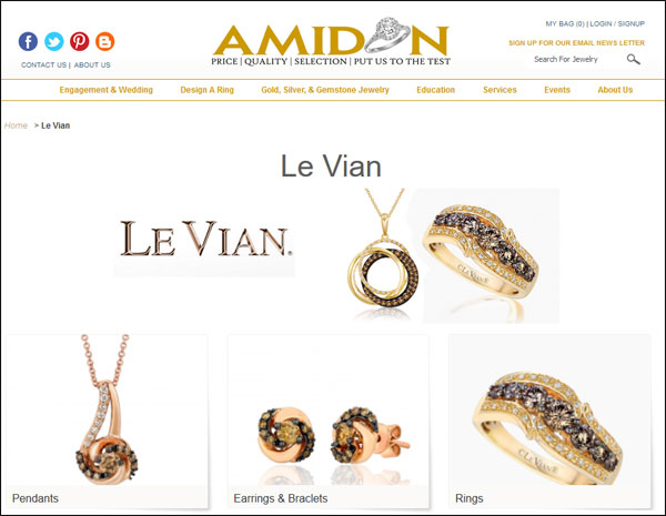Amidon Jewelers Black Friday Email & Website Review 1532-levian-page-32