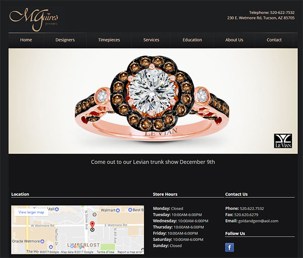 McGuires Jewelers Website Review 1542-events-page-3