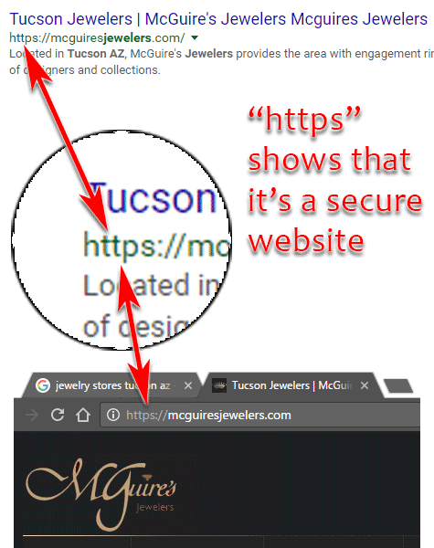 McGuires Jewelers Website Review 1542-secure-site-95