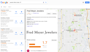 A Review Of Online Reviews 1543-fred-meyer-map-70