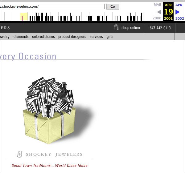 Shockey Jewelers FridayFlopFix Website Review 1544-wayback-machine-14