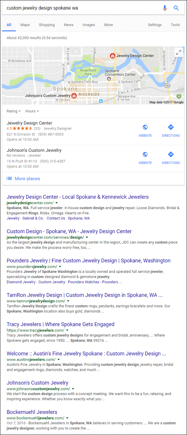 TamRon Jewelry Design Technical Website Review 1545-custom-design-serp-15