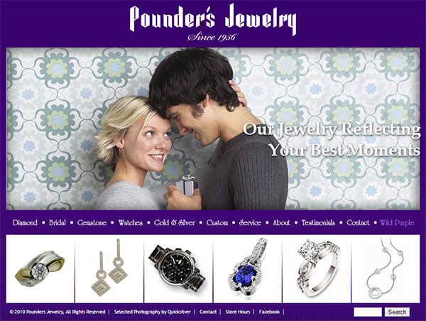 TamRon Jewelry Design Technical Website Review 1545-pounders-jewelry-home-11