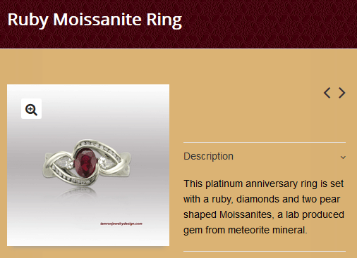 TamRon Jewelry Design Technical Website Review 1545-ruby-moissanite-ring-8