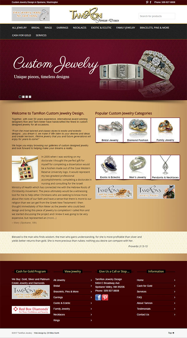 TamRon Jewelry Design Technical Website Review 1545-tamron-home-57