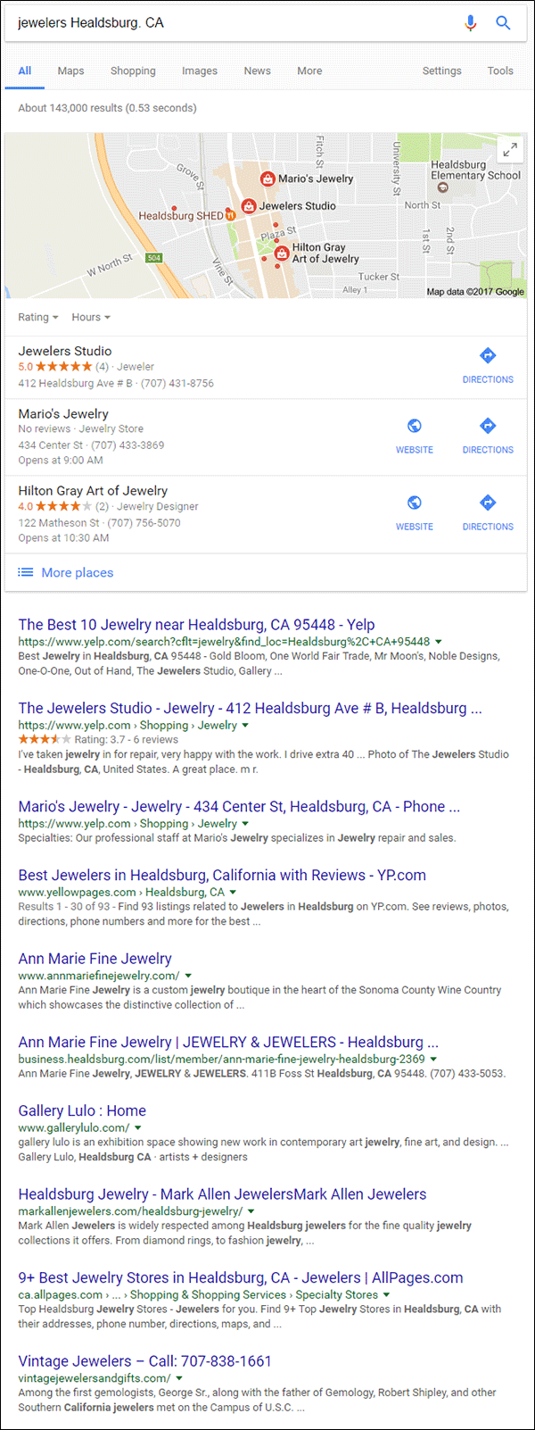 Bloated Websites vs. Simple Websites  1546-jewelers-healdsburg-ca-1