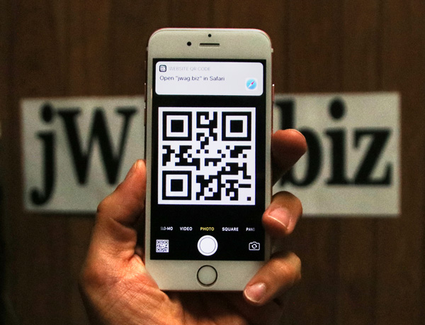 Resurgence of QR Codes Brings The Real World and Cyberspace Closer Together 1569-open-jwag-qr-in-safari-54