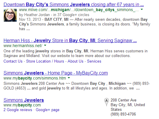 Herman Hiss & Company Website Review 1615-910-bay-city-serp
