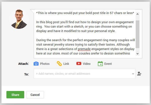 Google Plus Post Sharing Procedure 1895-911-google-plus-share-box-summary