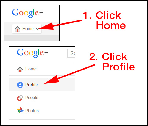 Setting up you Google Plus Profile Introduction 2142-951-step1
