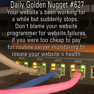 Server Monitoring Leads to Website Health 220-daily-golden-nugget-627