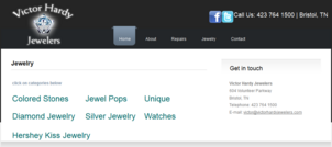 Victor Hardy Jewelers Website Review 2251-905-victor-hardy-jewelry-page