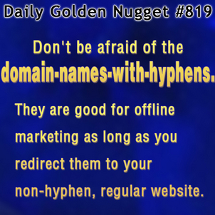 Domain Names With A Hyphen and QR Codes 2255-daily-golden-nugget-819