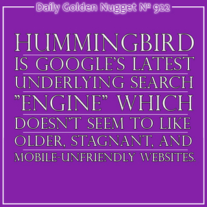 Effects of Google Hummingbird on Future Website Planning 2377-daily-golden-nugget-922