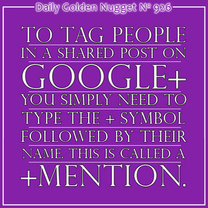 Sharing to Specific People on Google Plus 2446-daily-golden-nugget-926