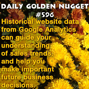 Google Analytics is You Own Historical Index 2871-daily-golden-nugget-596