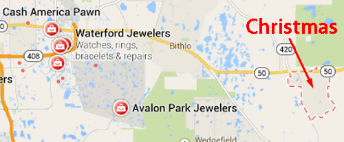 Avalon Park Jewelers Website Review 345-1040-map