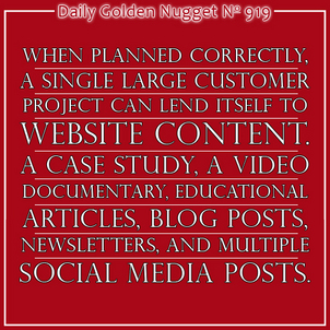 Step-by-Step Content Creation Strategy for 2014 and Beyond - Part 2 3450-daily-golden-nugget-919