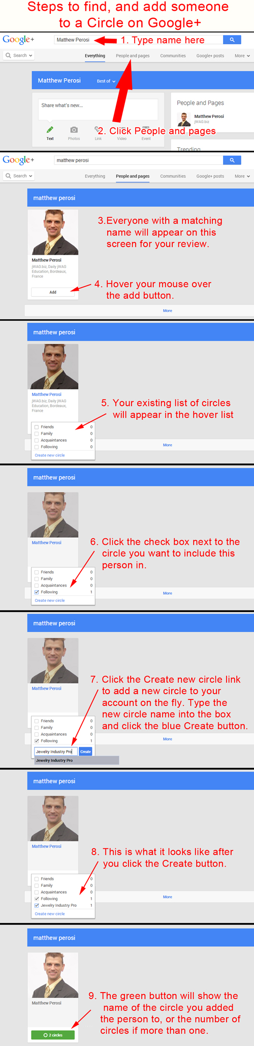 Adding People to Your Circles on Google Plus 3458-916-searching-for-people