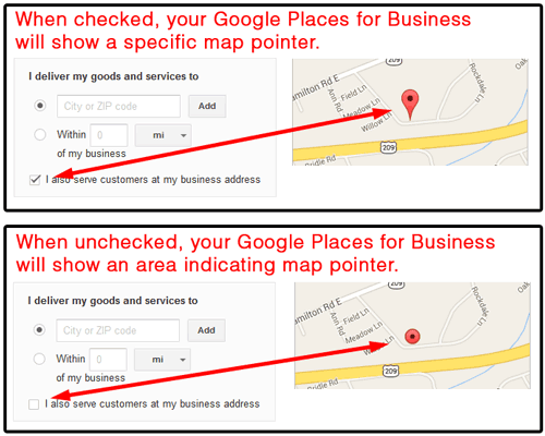 Google Places for Business Settings for Personal Jewelers 3756-999-area-indicator