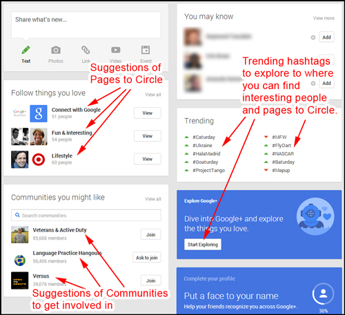 How to Get Started on Google Plus on Your First Day 3776-936-googleplus-suggestions