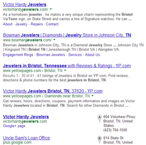 Victor Hardy Jewelers Website Review 3888-905-victor-hardy-jewelers-serp